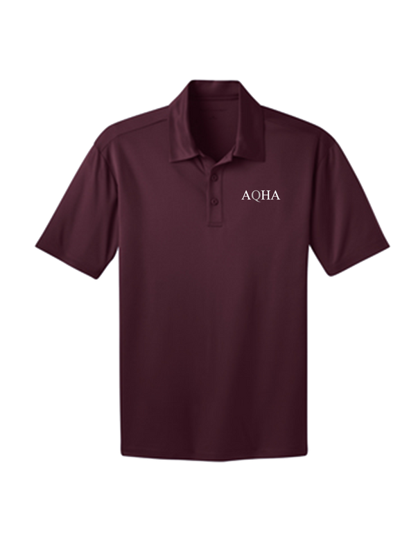 Maroon White & Grey Dri Fit Unisex Polo