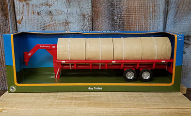 Hay Bale & Trailer Toy set