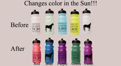 Sun Color Changing Bottle