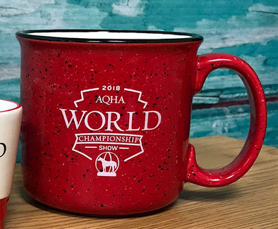 2018 WS Red Ceramic Campfire Coffee Mug