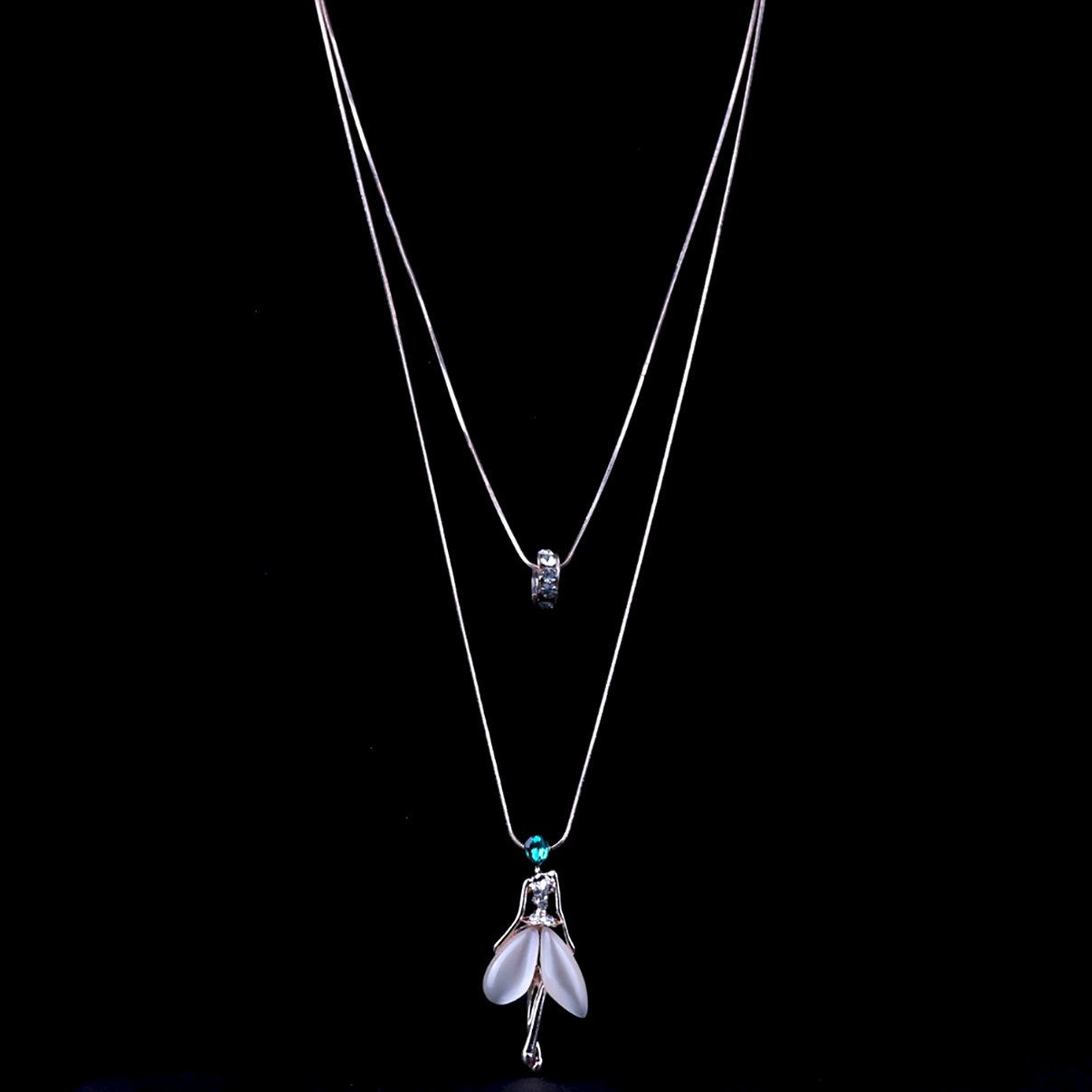 Crystal - Fairy Chain Necklace - Fashion Arks