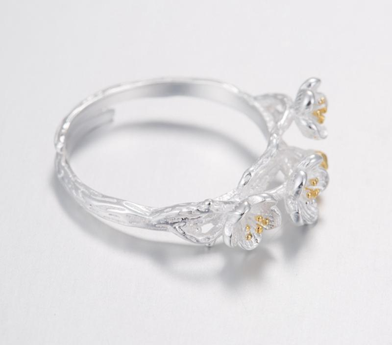Elegant Blossom Flower Ring for Girl - Fashion Arks