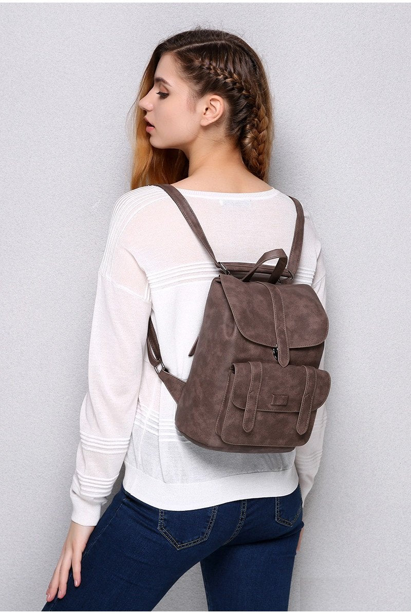 Emma - Vintage - Girl Leather Bag - Fashion Arks