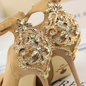 2018 - Women's Luxury Crystal Pumps - Fashion Arks