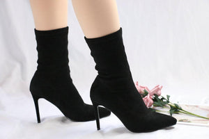 Celadrielia- Handmade High Heel Ankle Boots - Fashion Arks
