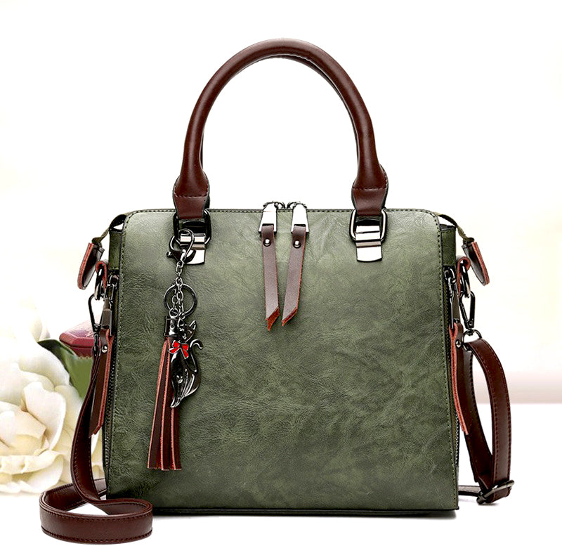 Saylah Vintage Messenger Handbag - Fashion Arks