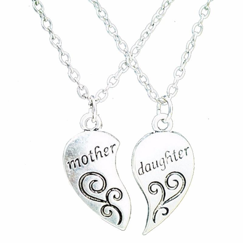 Heart Love Mother Daughter Necklace - Fashion Arks