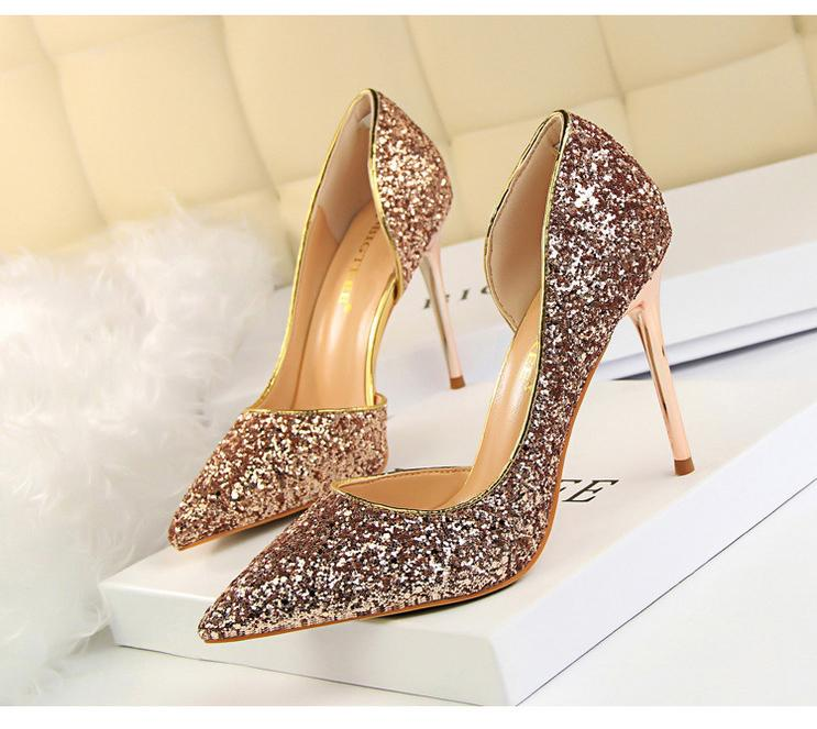 2018 - Sexy High Heels Wedding Shoes - Fashion Arks