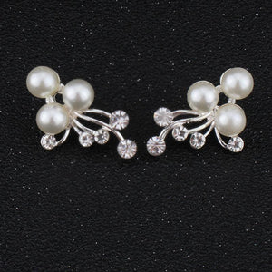 Imitation Pearls Bridal Jewelry Sets for Women - Fashion Arks