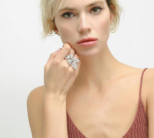 Sparkling Stone Ring - Fashion Arks