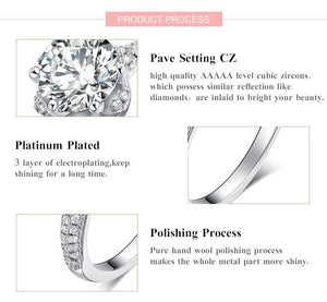 Princess Sterling Silver Ring - Fashion Arks
