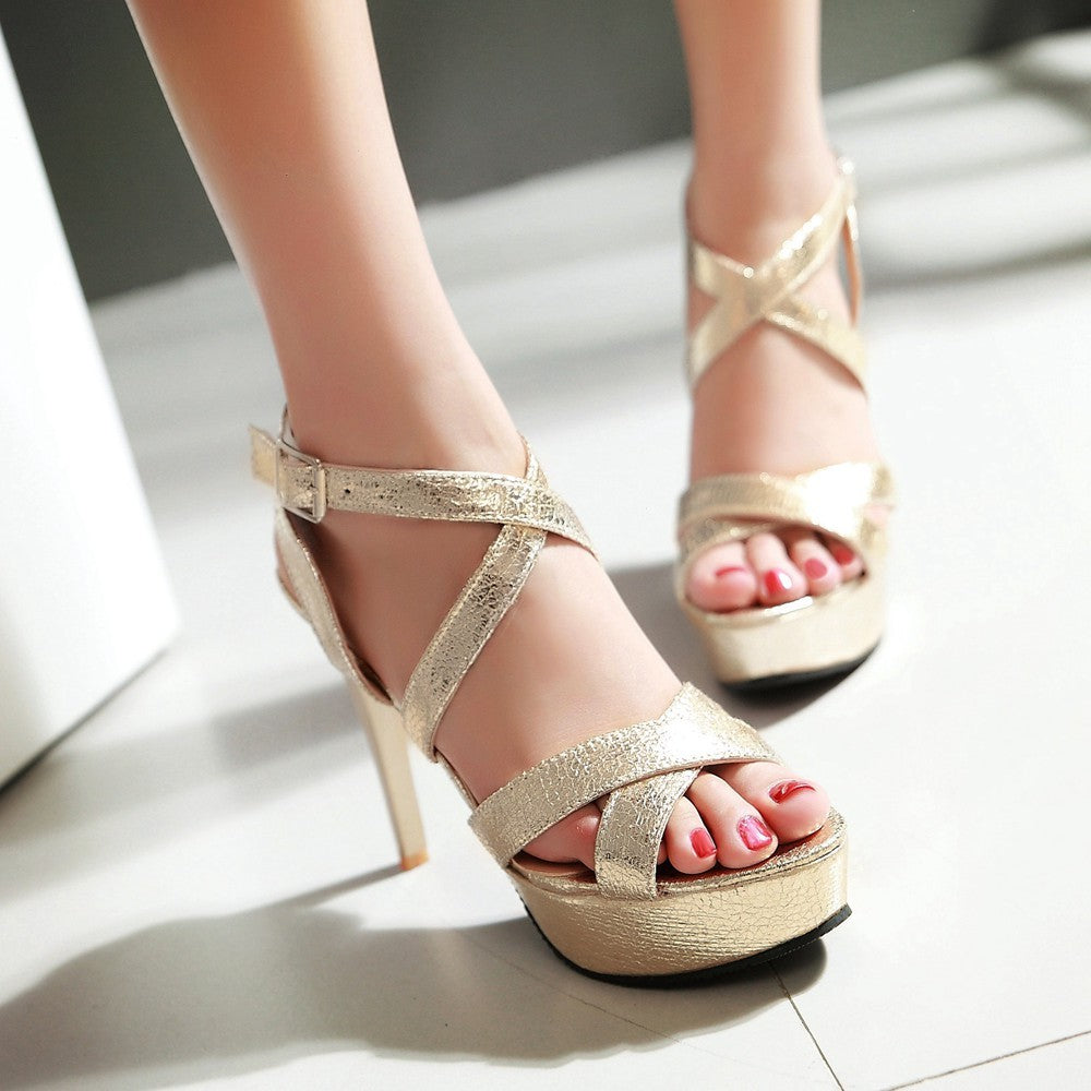 2018 - Summer Fashionable High Heel Women Party Shoes - Fashion Arks