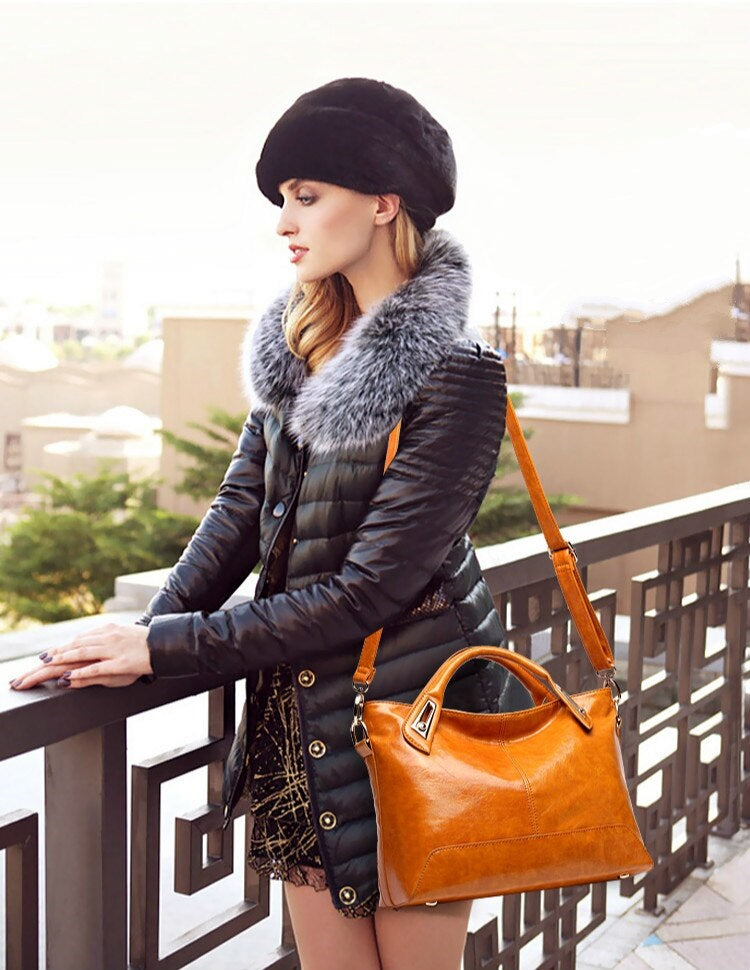 GRACE-ALLURE High Quality Leather Bag - Fashion Arks