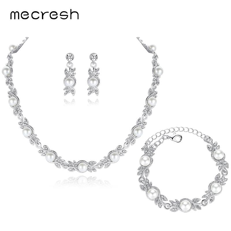 Pearl Bridal Jewelry Sets - Fashion Arks