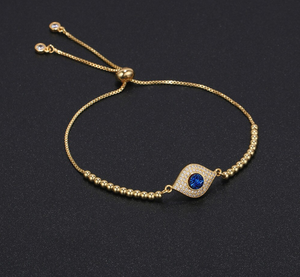 Evil Eye Charm Bracelet - Fashion Arks