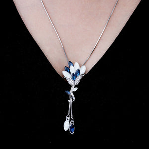 Bluebell - Flower Necklace - Fashion Arks