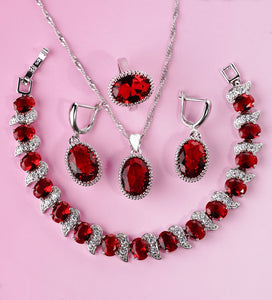 Seraphina - Sterling Silver Set - Fashion Arks