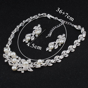 Bridal Jewelry Pearl Necklace For Women - Fashion Arks