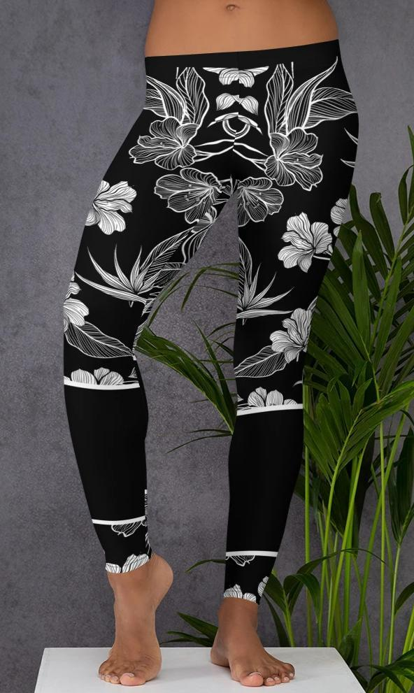 Flowers - Black - Fashion Arks