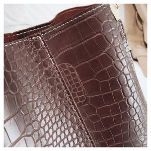 Salalah Crocodile Luxury Handbag - Fashion Arks