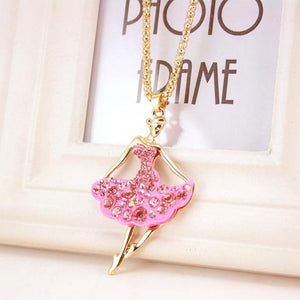 Ballet  Long Necklace - Fashion Arks