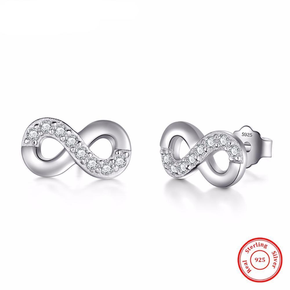 Luxury Infinite love Stud Earrings