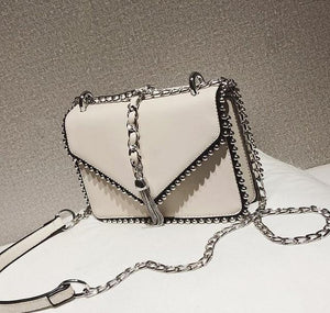MADONNA-Luxury Leather Chain Bag - Fashion Arks