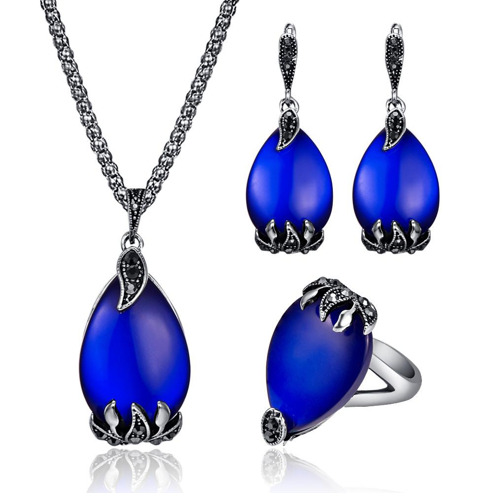 Water Drop Jewelry Set