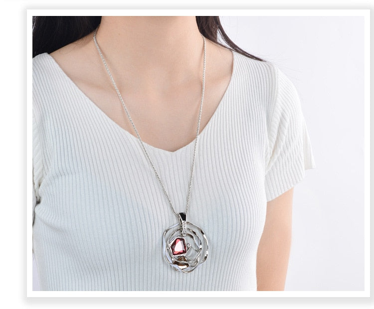 Reflections Long Necklace - Fashion Arks