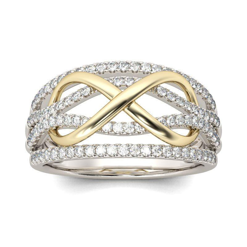 Luxury Infinity Ring - Fashion Arks