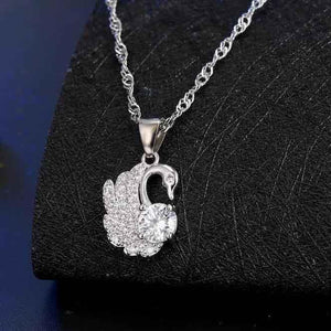 Swan - 925 Sterling Silver Set - Fashion Arks
