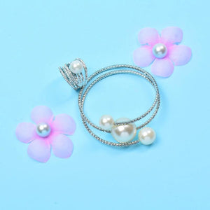 Pearl Multi-layer Bracelet and Ring - Fashion Arks