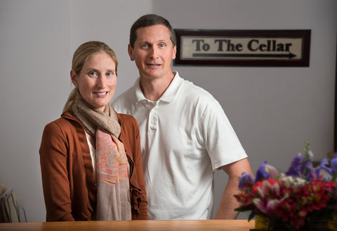 Mike and Vickie Alekson Owners of Fine Wine Cellars
