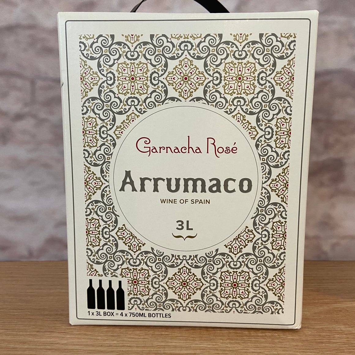 ARRUMACO GARNACHA ROSE' 2019 3.0L BAG IN BOX