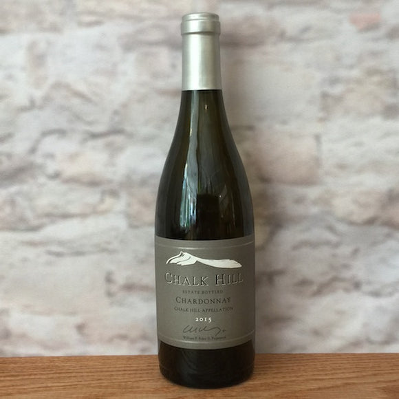 CHALK HILL ESTATE CHARDONNAY 2015