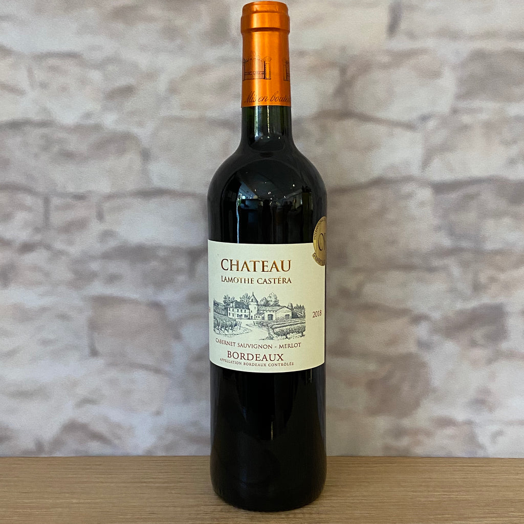 CHATEAU LAMOTHE CASTERA BORDEAUX 2018