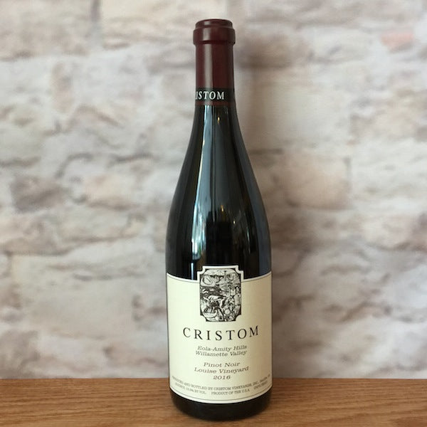 CRISTOM PINOT NOIR LOUISE VINEYARD 2016