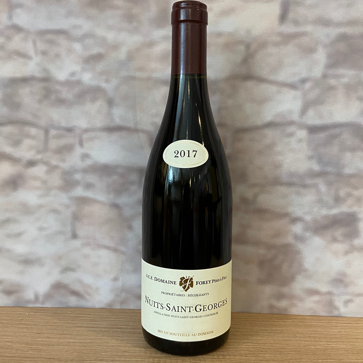 DOMAINE FOREY NUITS-SAINT-GEORGES 2017