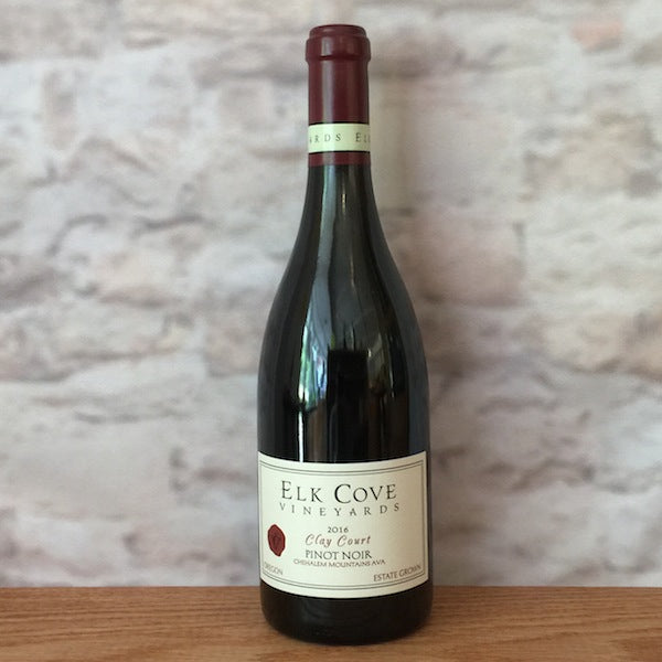 ELK COVE PINOT NOIR CLAY COURT 2016