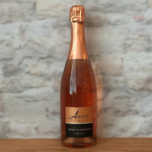 GUY AMIOT CREMANT DE BOURGOGNE BRUT ROSE NV
