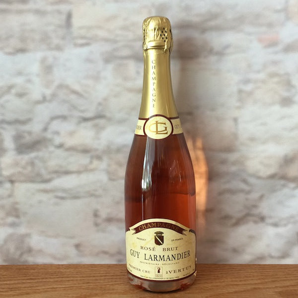 GUY LARMANDIER CHAMPAGNE 1ER CRU ROSE VERTUS BRUT NV
