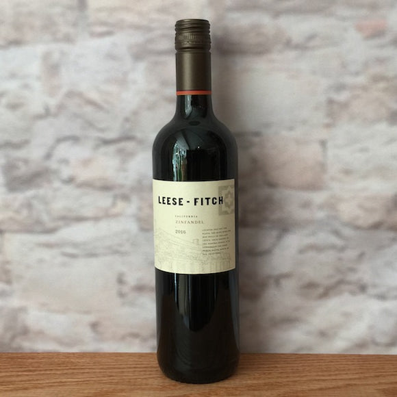 LEESE-FITCH ZINFANDEL 2016