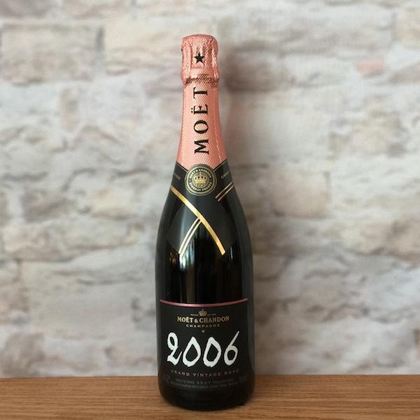 MOET & CHANDON ROSE´ GRAND VINTAGE 2006 CHAMPAGNE