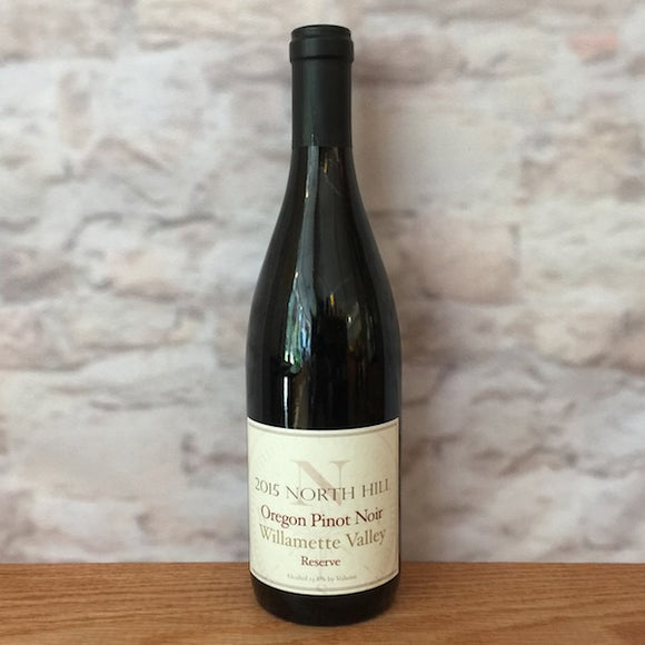 NORTH HILL RESERVE PINOT NOIR WILLAMETTE VALLEY 2015