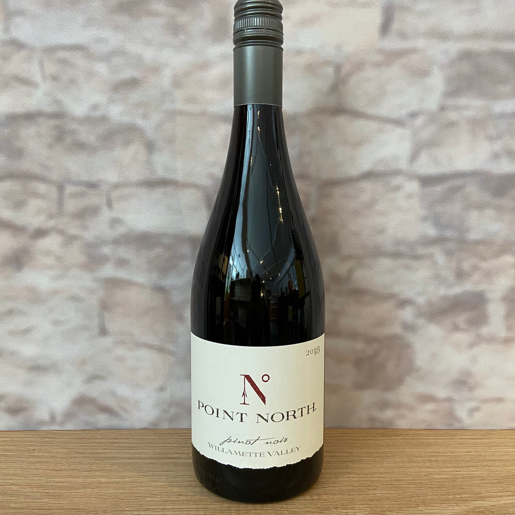 POINT NORTH PINOT NOIR WILLAMETTE VALLEY 2018