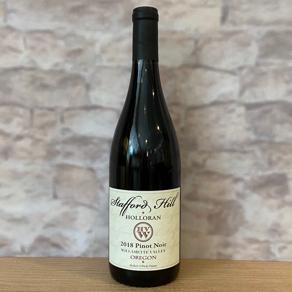 STAFFORD HILL PINOT NOIR WILLAMETTE VALLEY 2018