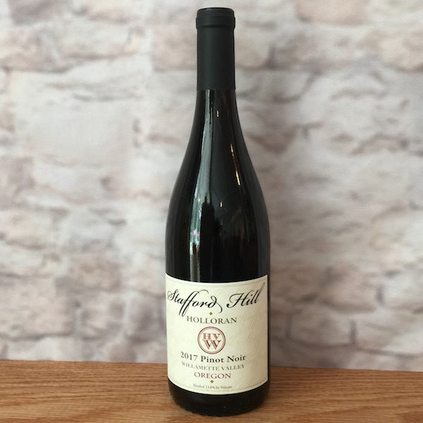 STAFFORD HILL PINOT NOIR WILLAMETTE VALLEY 2017