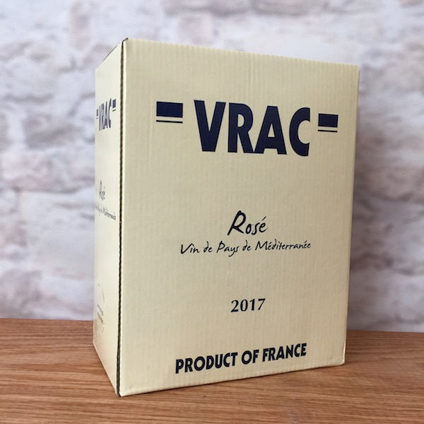 VRAC ROSE' 2017 3.0L BAG IN BOX