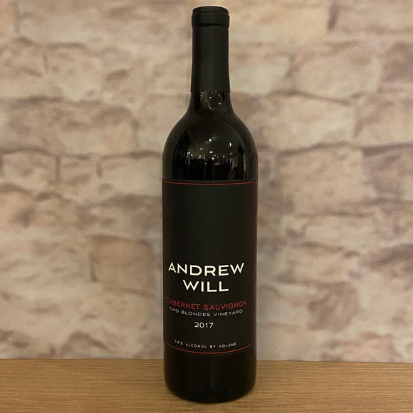 ANDREW WILL CABERNET SAUVIGNON TWO BLONDES VINEYARD 2017