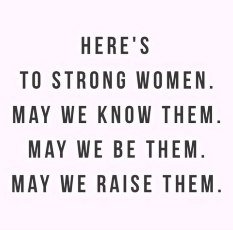 women supporting women quote